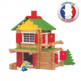 JEUJURA - Mon Chalet en Bois, 135 pieces