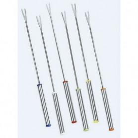 COSY & TRENDY K402  Set de 6 fourchettes à fondue, Acier inoxydable