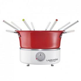 LAGRANGE Fondue festiv' avec ramequin - 900W - 8 fourchettes