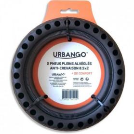 URBANGO Lot 2 pneus plein - Alvéolé - Haute qualité