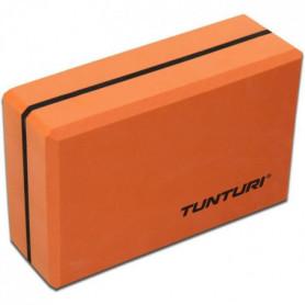TUNTURI Brique yoga bicolore orange / noir