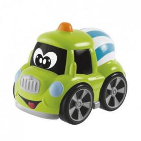 CHICCO Mini véhicule de construction Turbo Team Travailleurs Sandy