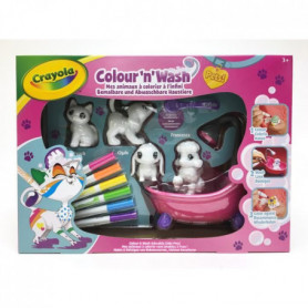 CRAYOLA Color'N'Wash pets - Mes Animaux a Colorier