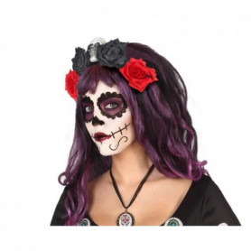 Serre-tete fleurs Halloween Adultes Femmes