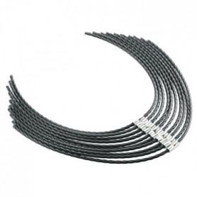 BOSCH 10 pieces de fils pour débroussailleuse AFS 23-37 - Ø 3,5 m