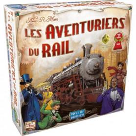 ASMODEE - Les Aventuriers du Rail USA - Jeu de société