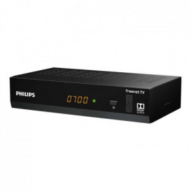 PHILIPS Décodeur DTR3502 HDMI TNT Full HD -DVB-T2