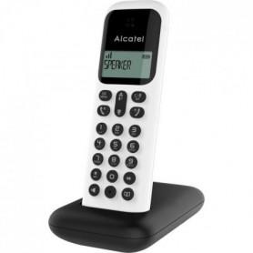 ALCATEL Téléphone fixe D285 SOLO Blanc sans fil dect solo