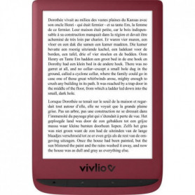 VIVLIO - Liseuse Numérique Touch Lux 5 - Rouge
