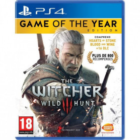 The Witcher 3 : Wild Hunt Goty Edition Jeu PS4