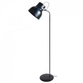 Lampadaire Cloche E27 23 W 150 cm Noir satiné