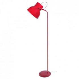 Lampadaire Cloche E27 23 W 150 cm Rouge