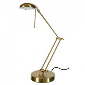 SUNLIGHT Lampe de bureau finition or satiné