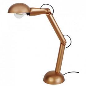 NEWTON  Lampe bureaux, bois articulé rereflecteur