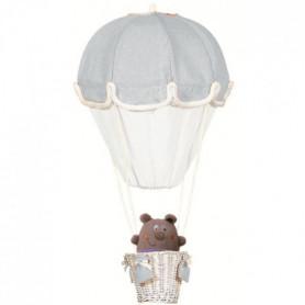 DOMIVA Lampe montgolfiere - Perle et Blanc