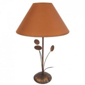 ORBIS Lampe a poser 30x30x48 cm - Marron