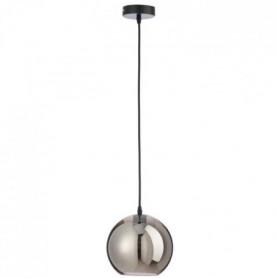 Lampe boule Verre 20x20x22 cm Argent