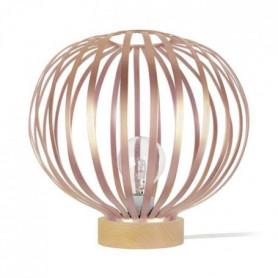 LAMELLES DAVOS Lampe a poser acier - 36x36x35cm