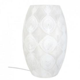 Lampe a poser décorative Pow-How E27 60W blanc