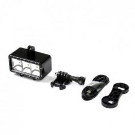 WHIPEARL Lumiere LED étanche GP258 - Pour Go Pro