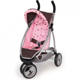 BAYER Poussette Jogger Sport Marron - Réglable