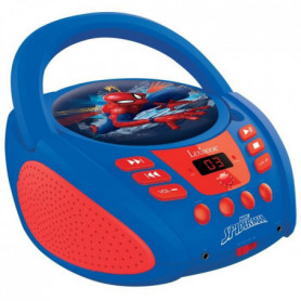 LEXIBOOK - SPIDERMAN - Radio Lecteur CD Enfant