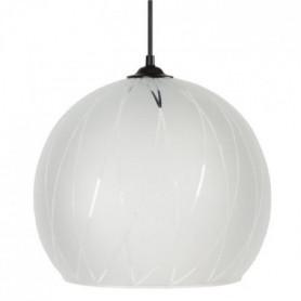 BIA Lustre - suspension verre Globe, diametre 30 cm
