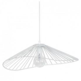 LADY Lustre - suspension filaire 50x44x13 cm blanc