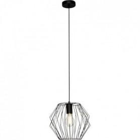 NORIS Suspension métal - 100x28cm - Fil noir