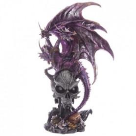 Figurine Dragons a trois tete - 52cm