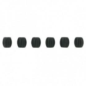 JAGWIRE Lot de 50 mini-tubes - Noir et Blanc