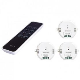CHACON Kit 3 modules DiO 1000 W avec télécommande