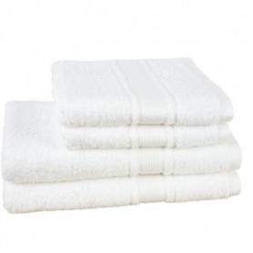 JULES CLARYSSE Lot de 2 draps de bain + 2 serviettes