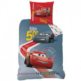 CARS RACE Parure de couette enfant 140 x 200 cm