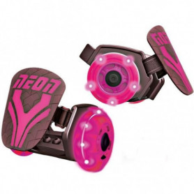 Rollers lumineux a LED - Neon Street - Rose