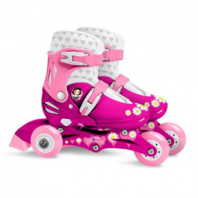 DISNEY PRINCESSES Patins en Ligne Ajustable 27-30