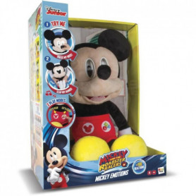 IMC TOYS Peluche interactive sonore Mickey Emotion