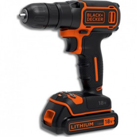BLACK & DECKER Perceuse visseuse sans fil BDCD18
