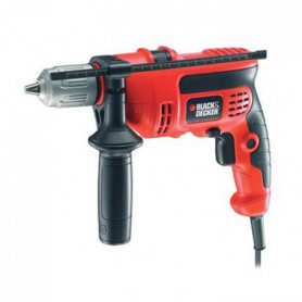 BLACK&DECKER Perceuse a percussion KR604CRESK 600W