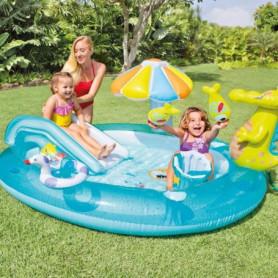 INTEX -Piscine enfant / Aire de Jeux aquatique Aligator