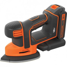 BLACK&DECKER Ponceuse Mouse BDCDS18N-XJ - 18 V