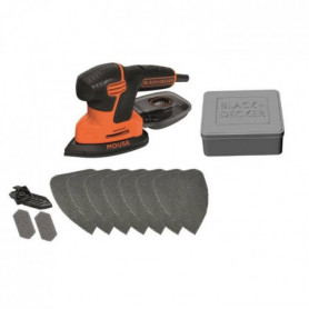 BLACK & DECKER Ponceuse Mouse KA200AT 120 W