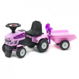 FALK Porteur Tracteur Princess Trac avec remorque