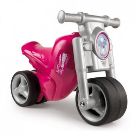SMOBY Porteur Moto Rose