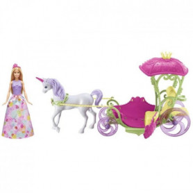 BARBIE - Princesse Barbie Et Sa Caleche