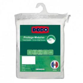 DODO Protege-matelas Alese imperméable Jade 140x190cm