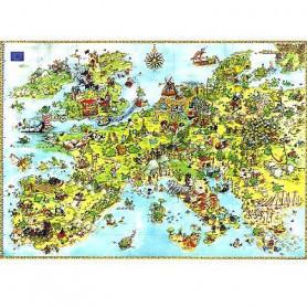 MERCIER Puzzle 4000 pieces Dragons - 96 x 136 cm