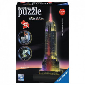 RAVENSBURGER Puzzle 3D Empire State Building Night Edition