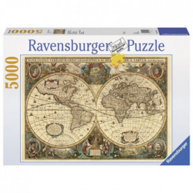Puzzle 5000 pcs Mappemonde