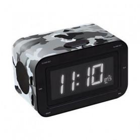 BIGBEN RR30ARMY Radio réveil - Double alarme